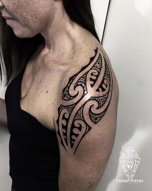23 Idees De Tatouage Tribal Badass Pour Les Femmes Vie Feminine