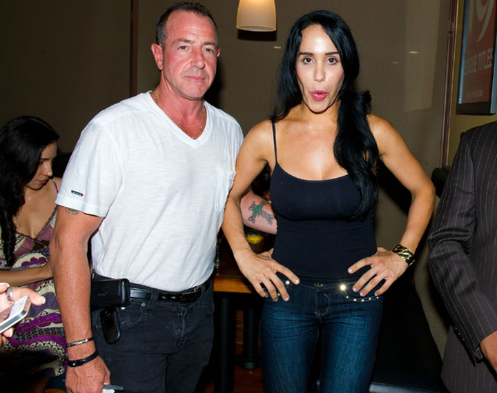 Octomom : Nadya et Marcos Gutierrez, son époux